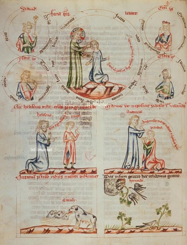 Heilung des Hl. Paulus durch Ananias