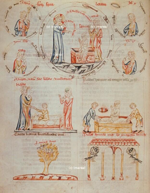 Elija erweckt den Sohn der Witwe von Sarepta