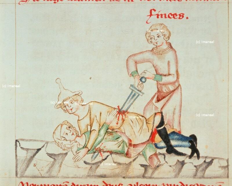 Pinhas ermordet ein ehebrecherisches Paar von