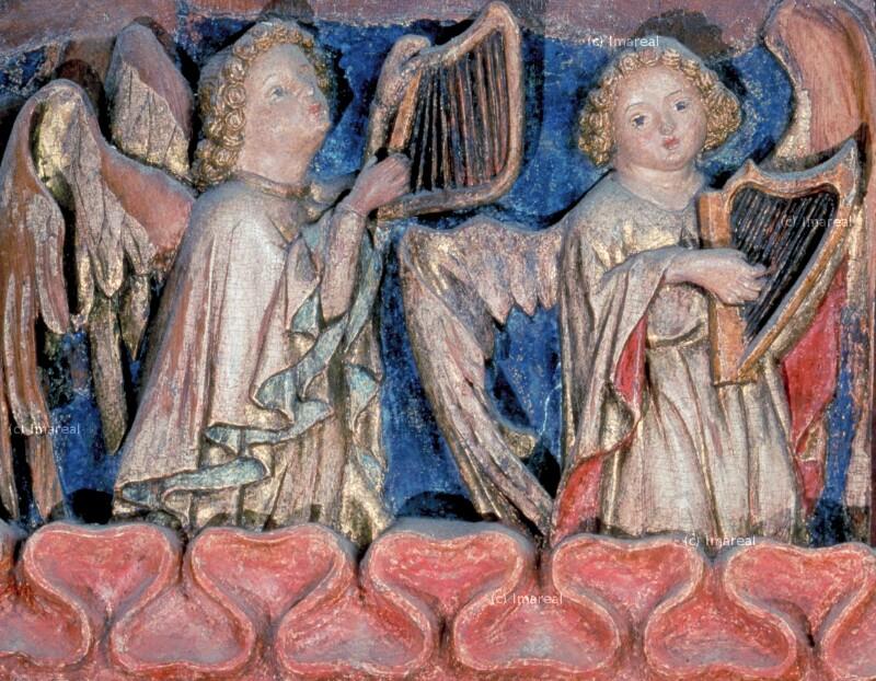Engel musizierend von Hans von Judenburg