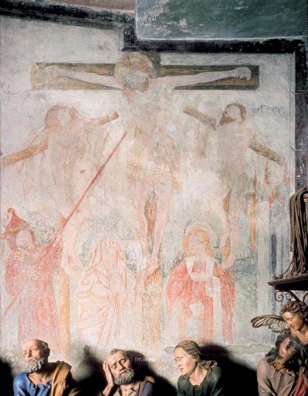 Kreuzigung Christi von Pacher-Umkreis