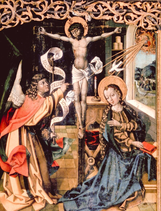 Verkündigung an Maria von Pacher-Umkreis