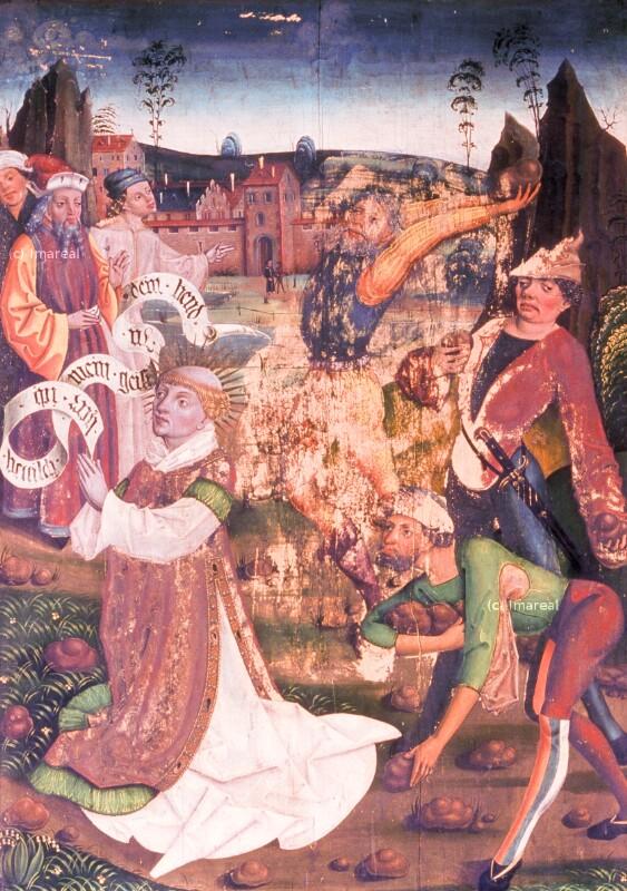 Steinigung des Hl. Stephan von Klocker Hans