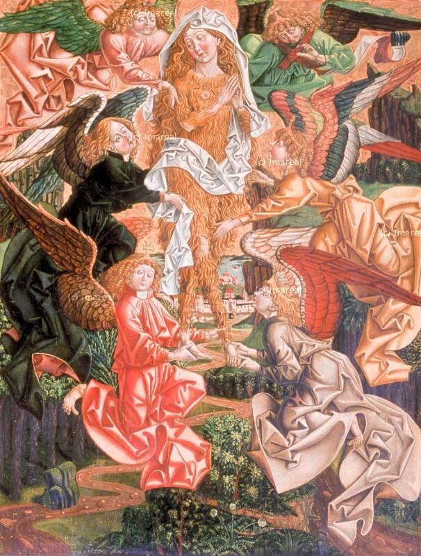 Verzückung der Hl. Maria Magdalena von Pacher-Umkreis