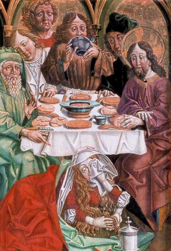 Gastmahl in Bethanien von Pacher-Umkreis