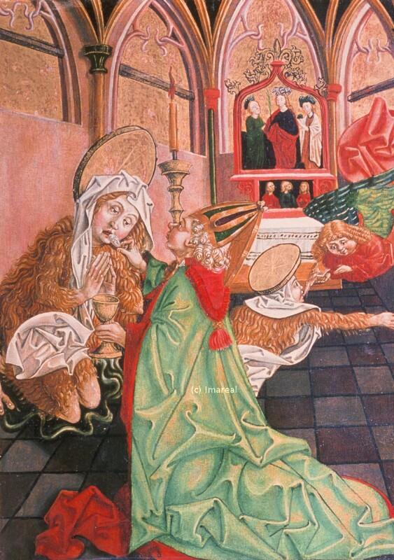 Tod der Hl. Maria Magdalena von Pacher-Umkreis