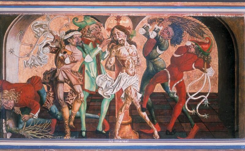 Geißelung Christi von Pacher-Umkreis