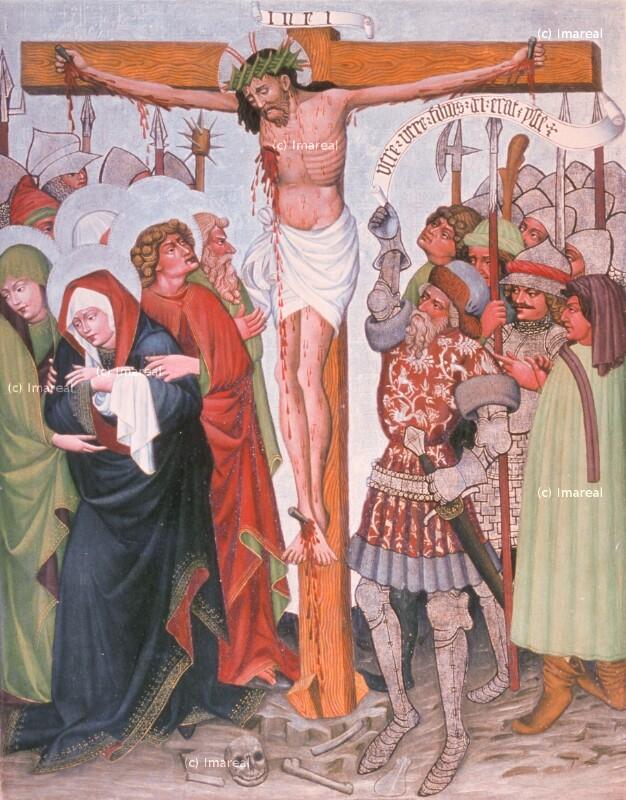 Kreuzigung Christi von Meister von St. Sigmund-Umkreis