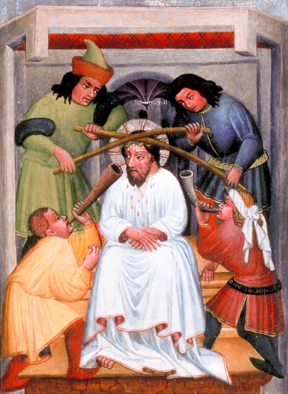 Dornenkrönung Christi von Meister von St. Sigmund-Umkreis