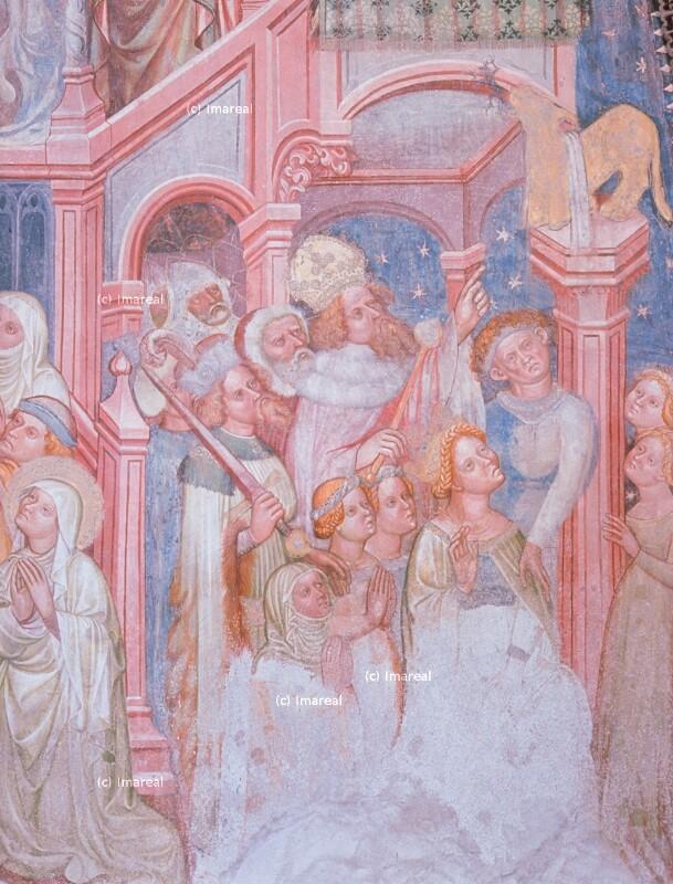 Anbetung des goldenen Kalbes von Meister Wenzlaus