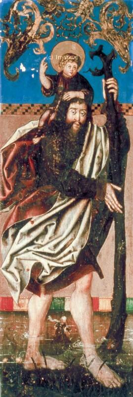 Hl. Christophorus von Haller Andre