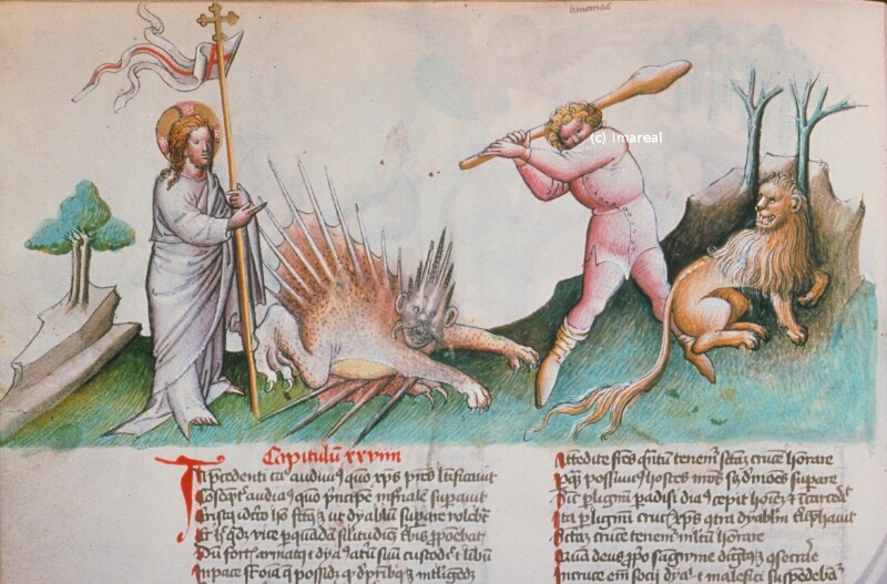 Christus überwindet den Teufel