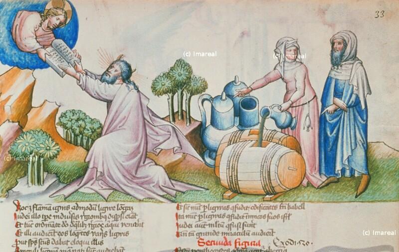 Elischa vermehrt das Öl der Witwe