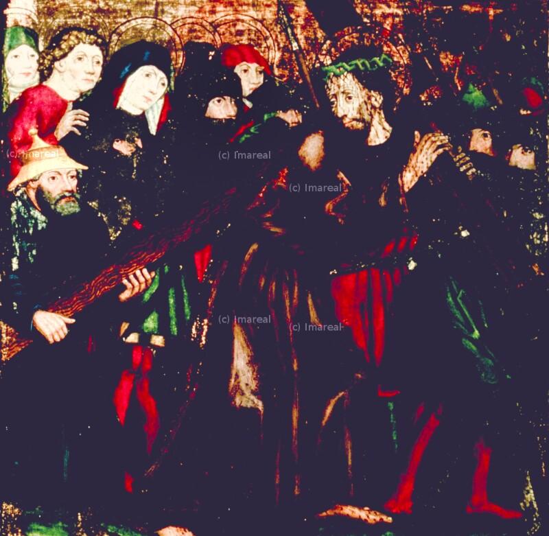 Kreuztragung Christi von Leonhard von Brixen