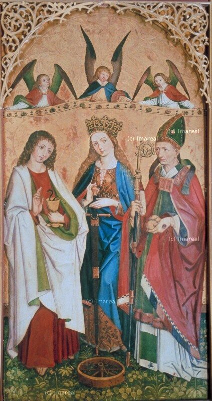 Hl. Johannes Evangelist von Frueauf-Umkreis