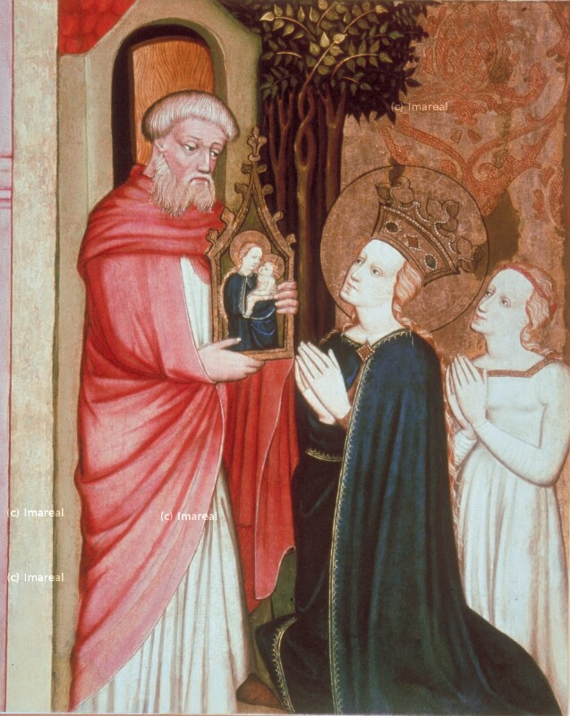 Hl. Maria mit Kind von Meister von Bat