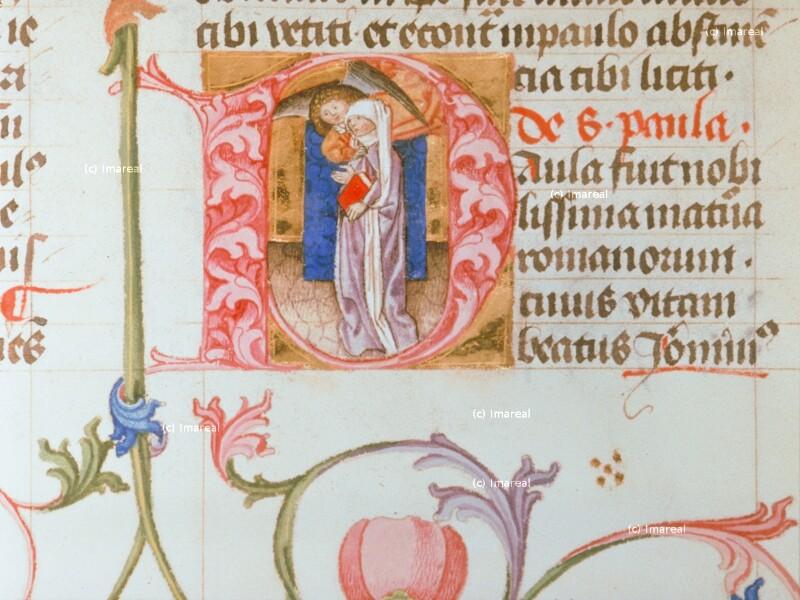 Hl. Paula von Hofwerkstatt Friedrichs III.
