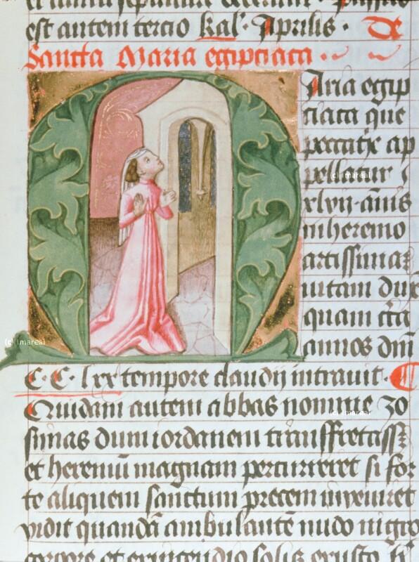 Hl. Maria Ägyptica von Hofwerkstatt Friedrichs III.