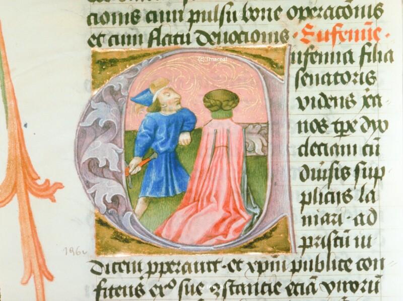 Martyrium der Hl. Euphemia von Hofwerkstatt Friedrichs III.