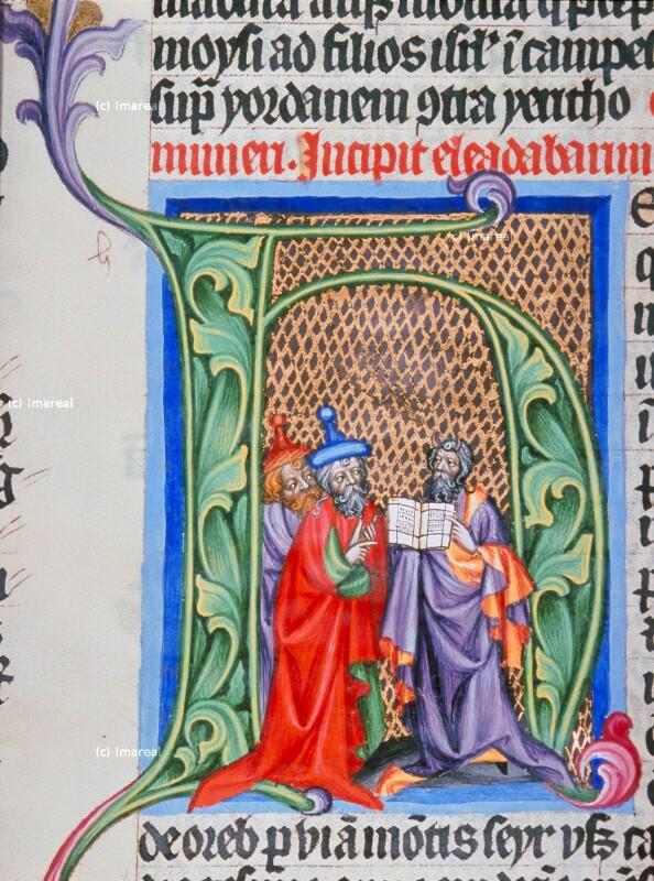 Mose von Meister des Hasenburg-Missales