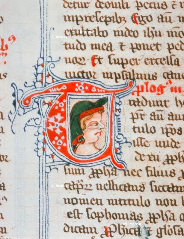 Kopf von Herward von St. Andreae