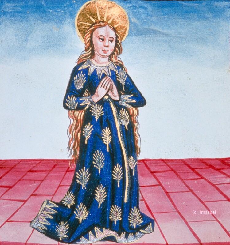 Hl. Maria im Ährenkleid von Hofwerkstatt