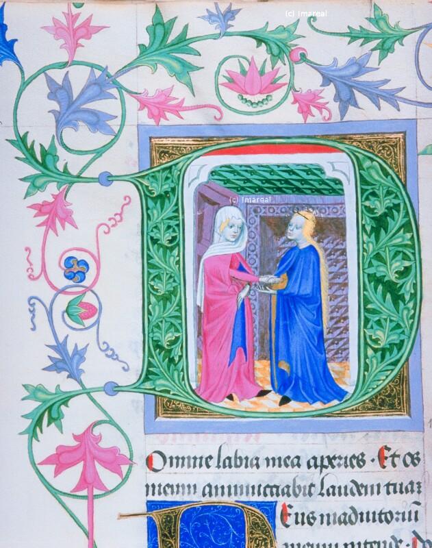 Heimsuchung Mariens von Meister der Klosterneuburger Missalien