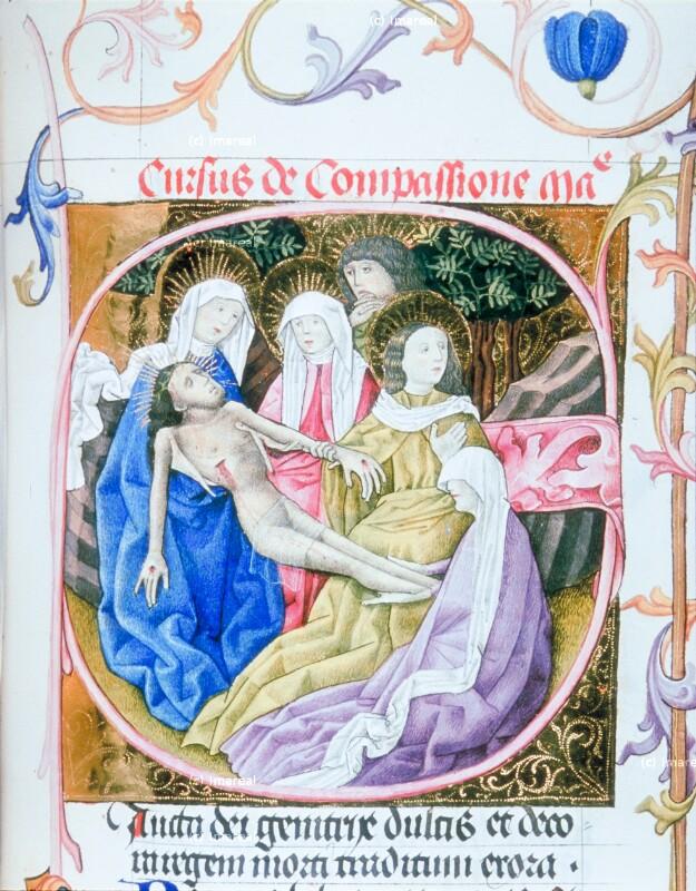 Beweinung Christi von Martinus Opifex