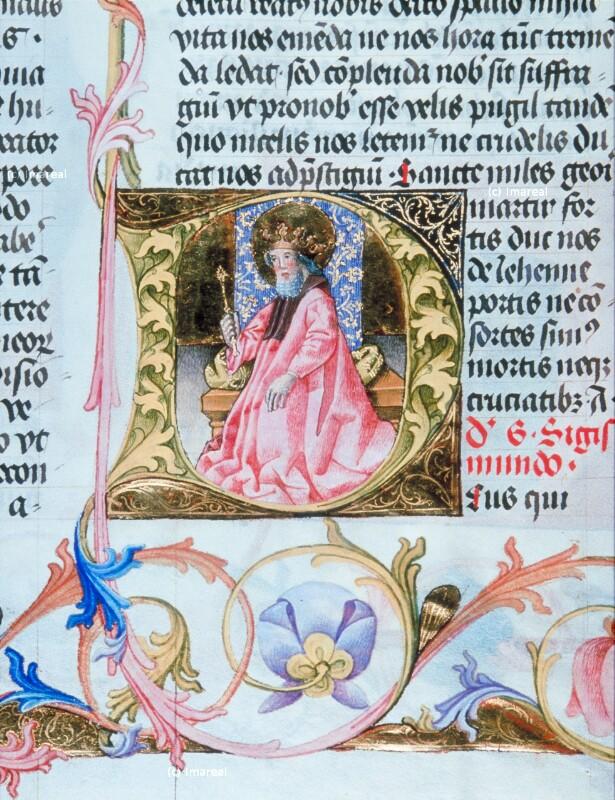 Hl. Sigismund von Martinus Opifex