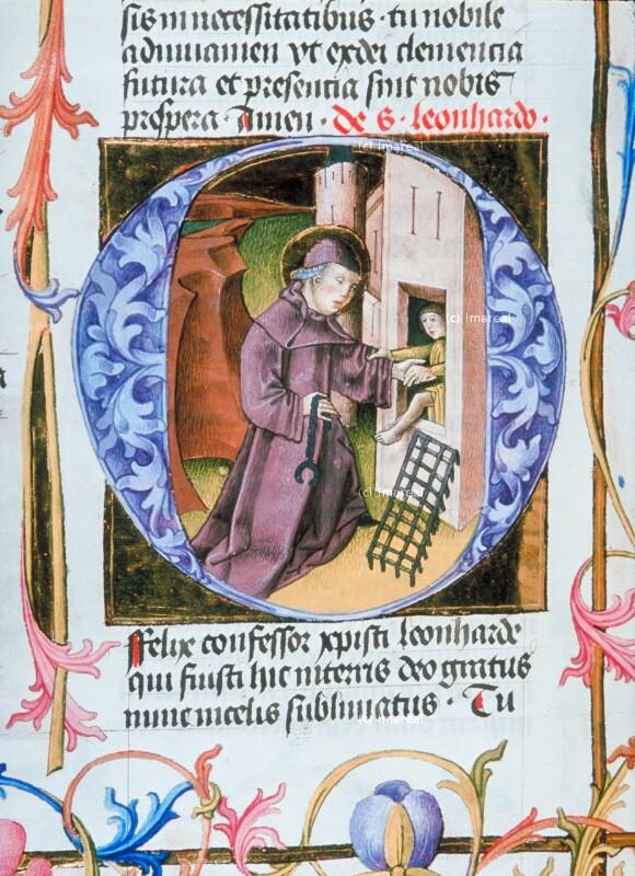 Gefangenenbefreiung durch den Hl. Leonhard von Martinus Opifex
