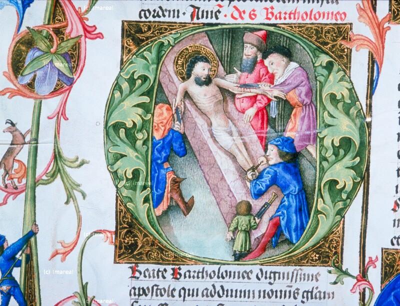 Schindung des Hl. Bartholomäus von Martinus Opifex