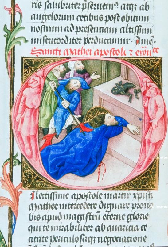 Martyrium des Hl. Matthäus von Martinus Opifex