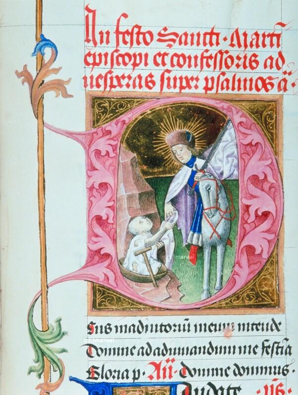 Hl. Martin teilt seinen Mantel von Martinus Opifex