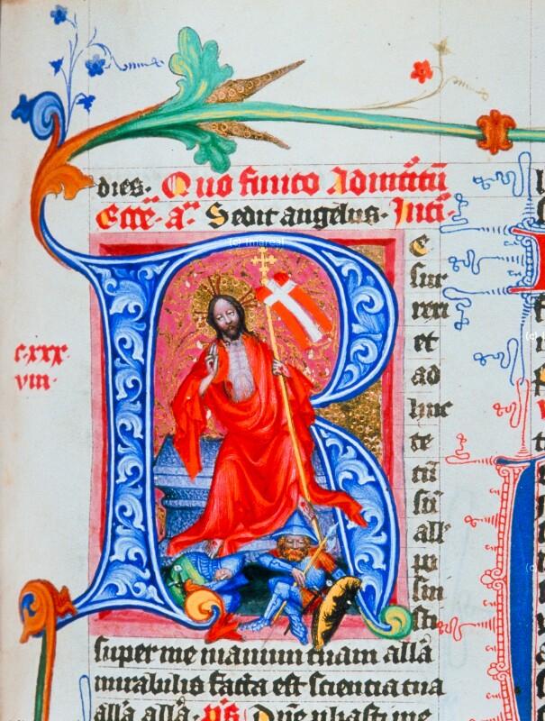 Auferstehung Christi von Meister des Hasenburg-Missales
