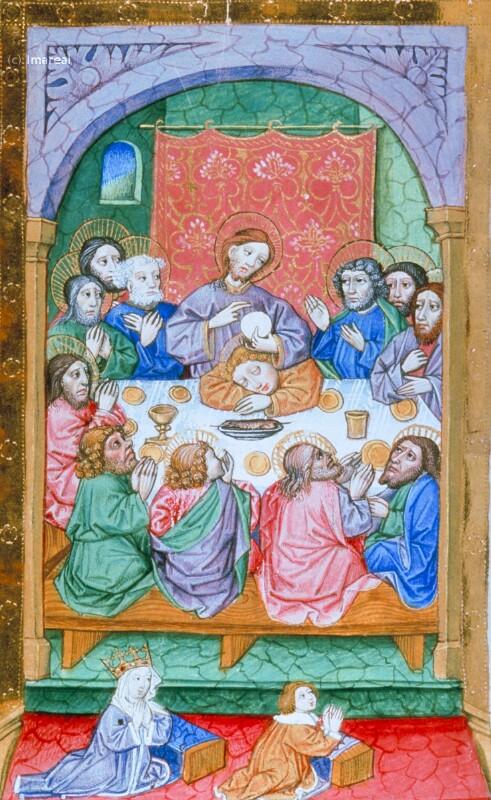 Letztes Abendmahl von Lehrbücher-Meister
