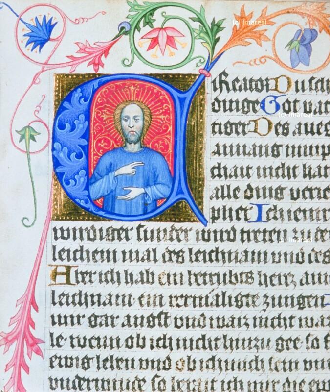 Christus segnend von Albrechtsminiator