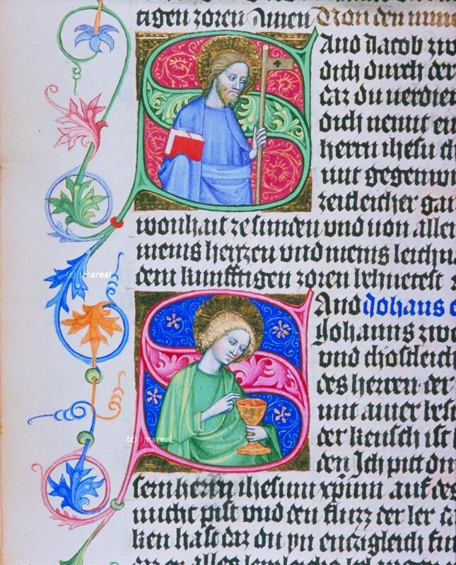 Hl. Jakobus minor von Albrechtsminiator