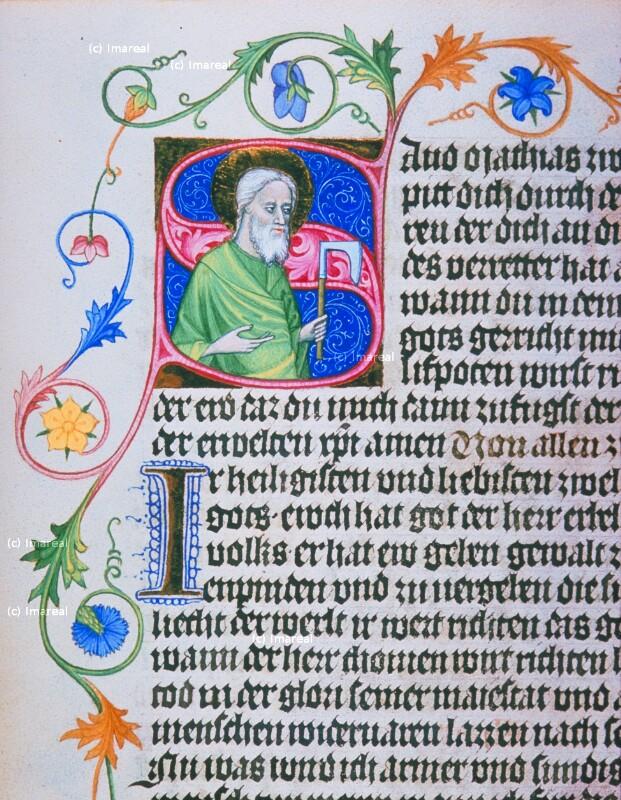 Hl. Matthias von Albrechtsminiator