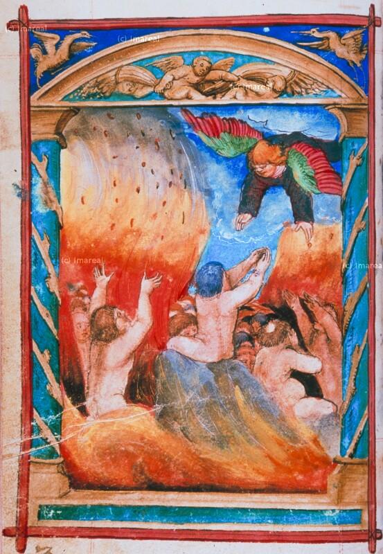 Seelen im Fegefeuer von Glockendon Nikolaus