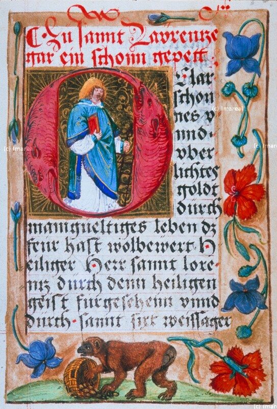 Hl. Laurentius von Glockendon Nikolaus