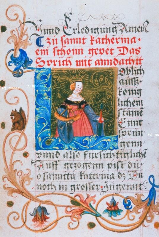 Hl. Katharina von Glockendon Nikolaus
