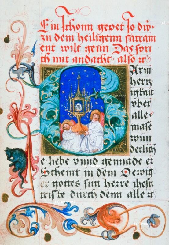 Engel mit Monstranz von Glockendon Nikolaus