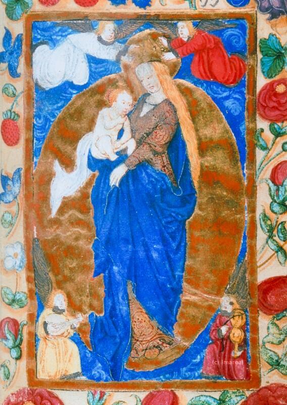 Hl. Maria mit Kind
