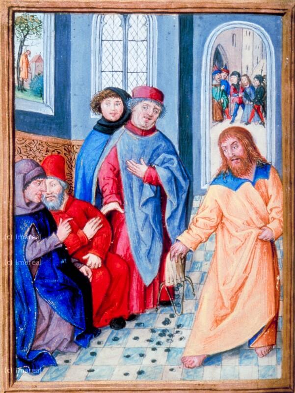 Judas gibt die dreißig Silberlinge zurück