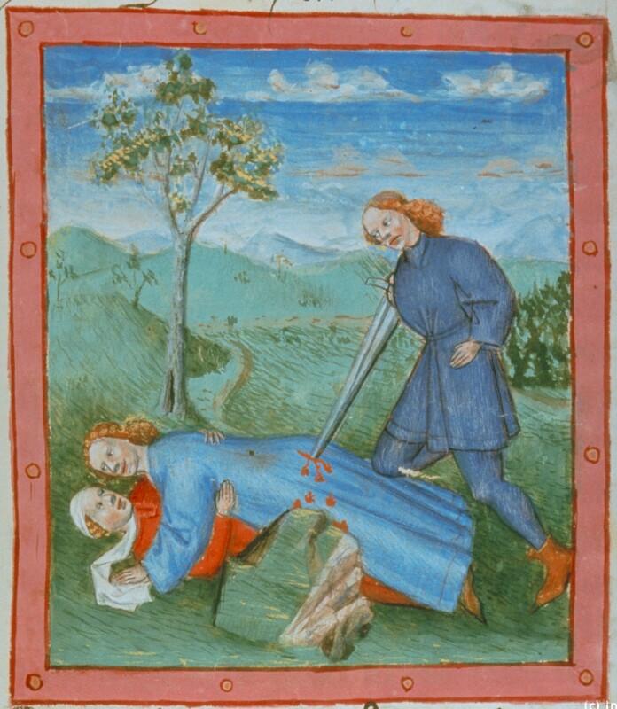 Pinhas ermordet ein ehebrecherisches Paar