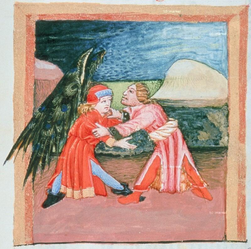 Jakob ringt mit dem Engel