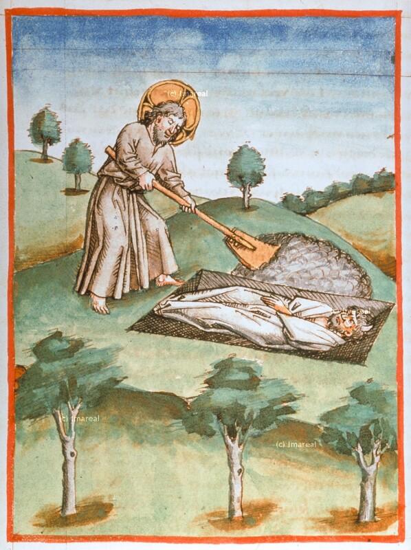 Bestattung des Mose von Maler zu Urach
