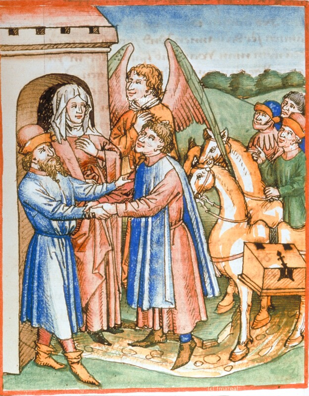 Heimkehr des Tobias von Maler zu Urach