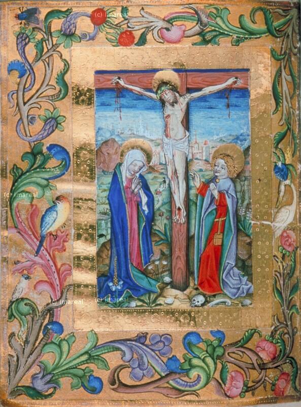 Kreuzigung Christi von Lehrbücher-Meister