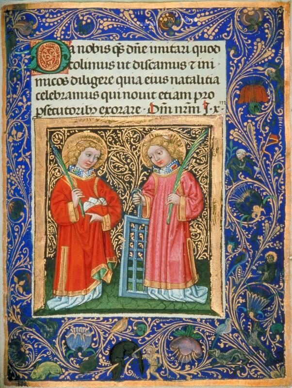 Hl. Stephan von Lehrbücher-Meister